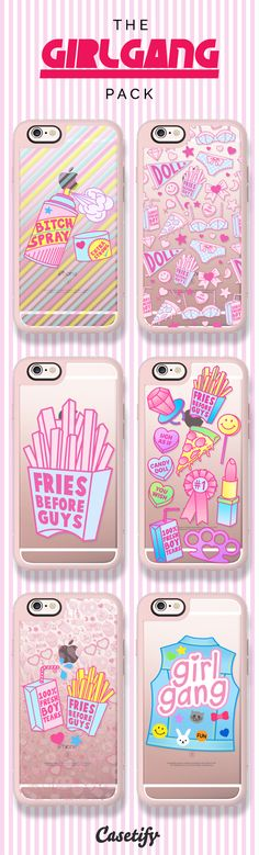 Girls rule! Click to shop our #GirlGang collection here: https://www.casetify.com/jadeboylan/collection | @casetify