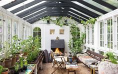 The most lovely conservatory I have ever pinned