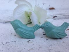 ON SALE Bird Drawer Pulls Set of 2 by ShabbytoChicSister on Etsy, $9.98