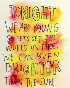 We Are Young | Fun