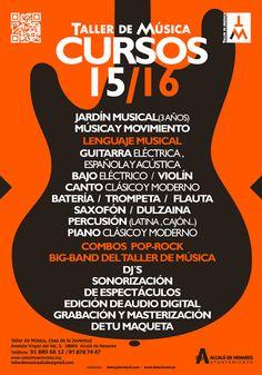 CIDAJ: Oferta Cursos Taller de Música de Concejalía de Ju...