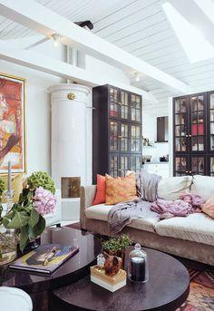 My Little Home Blog // revue de blogs  - un grenier transformé en appartement bohème