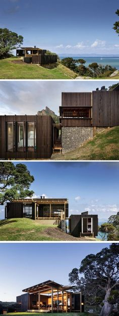 35 Stunning Modern Container House Design Ideas for Comfortable Life Every Day – GooDSGN Architecture Durable, Architecture Design, Residential Architecture, Casas Containers, Arch House, House On The Rock, Types Of Houses, Future House, House Design