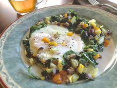 Breakfast Veggie Hash with Eggs