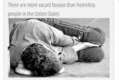 The truth of our world   Open your eyes and realise the real lies  #Homeless #Vacant #House #Houses  #America #USA