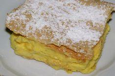 Házi krémes - Fincsi sütemény Pancakes, Breakfast, Food, Mint, Morning Coffee, Essen, Pancake, Meals, Yemek