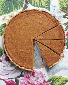 Martha Stewart - Maple Pumpkin Tart (thanksgiving)