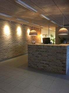 This interior I created for a customer who sells old bricks. Gamle Mursten, Brønderslev, Denmark. www.lacarriere.dk
