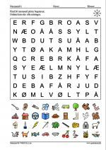 Find 36 navneord på tre bogstaver Danish Language, Wood Projects, Craft Projects, Working With Children, Home Schooling, Geometric Art, Wood Crafts, Clip Art, Teaching