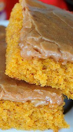 ... , and bars | Pinterest | Pumpkin Sheet Cake, Sheet Cakes and Pumpkins