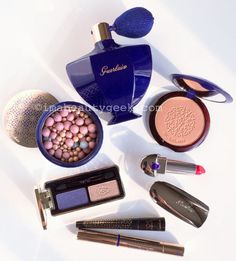 Guerlain holiday 2016: Guerlain Exceptional makeup collection by Natalia Vodianova in collaboration with Olivier Echaudemaison.