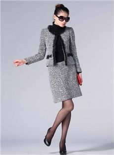 Fashionable Slim Laciness Suits