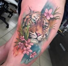 tattoo_portrait_of_a_tiger_in_colors