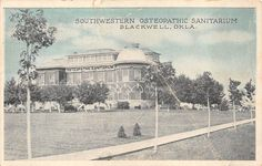A View of the Southwestern Osteopathic Sanitarium, Blackwell OK Family Memories, My Heritage, Oklahoma, Taj Mahal, Past, Nostalgia, Medical, History, World