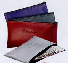 bank pouch   Bank Deposit Pouch (Navy Blue))