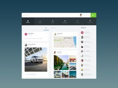 Simplissime activity feed by Grégoire Vella Web Dashboard, Ui Web, Ui Design, Layout Design, Flat Ui, Simple App, Data Visualization, User Interface, Infographic