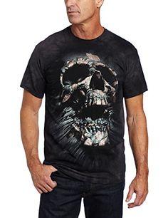 The Mountain Men's Breakthrough Skull T-shirt  Black  Medium