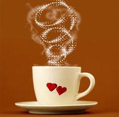 Coffee and Love - Animated Gif