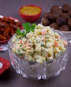 Ruska Salata, Pasta Recipes, Guacamole, Vegan Vegetarian, Potato Salad, Foodies, Side Dishes, Food And Drink, Snacks