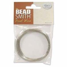 Brass German Bead Craft Wire 22 Gauge .6 Dia Feet (10 Meters) 42643 by Beadsmith