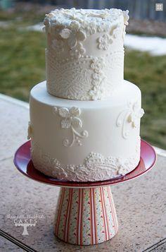 Winter white cake