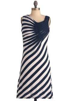 Spread the Style Dress in Navy