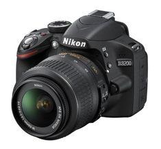 Sale Preis: Nikon D3200 SLR-Digitalkamera (24 Megapixel, 7,4 cm (2,9 Zoll) Display, Live View, Full-HD) Kit inkl. AF-S DX 18-55 VR Objektiv schwarz. Gutscheine & Coole Geschenke für Frauen, Männer & Freunde. Kaufen auf http://coolegeschenkideen.de/nikon-d3200-slr-digitalkamera-24-megapixel-74-cm-29-zoll-display-live-view-full-hd-kit-inkl-af-s-dx-18-55-vr-objektiv-schwarz