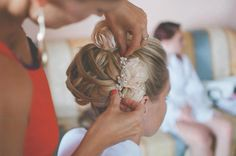 Make Up Your Day Your Way Gemma Sutton and her Dream Team of Pro Artists offer a service not only in the UK but to any destination of your choice.  www.gemmasutton.com Getting Married Abroad, Bridal Hair Updo, Dream Team, About Uk, Updos, Got Married, Wedding Day, Make Up, Stylists
