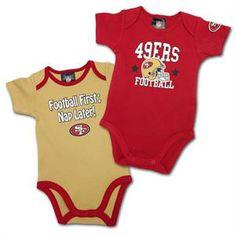 e4fb7cb79 31 Best San Francisco 49ers Baby images