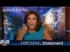 Judge Pirro - Barack Obama, Your Nothing But A 'Closet Muslim'