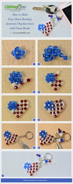 LC.Pandahall.com has published the Tutorial on How to Make Easy Heart Beading…