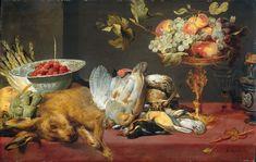 Натюрморт с битой дичью и фруктами (1600-1657) (Амстердам, Гос.музей).