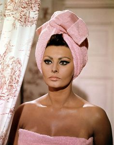 Sophia Loren... Italian, exotic, stunning... then and to this very day... the best cat eye makeup ever... she pioneered that look.