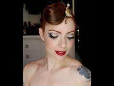 Julia Petit Passo a Passo Carnaval Vintage - Maquiagem - YouTube