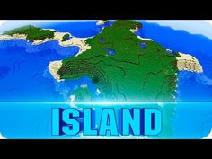 Minecraft Seeds - Large Survival Island with One Tree - 1.8.6 / 1.8 Island Seed - YouTube