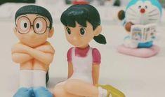 shizuka and nobita Cute Love Pictures, Cute Cartoon Pictures, Cute Love Cartoons, Love Images, Baby Cartoon Drawing, Doremon Cartoon, Cartoon Drawings, Cute Drawings, Doraemon Wallpapers