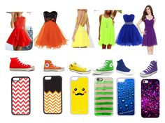 Prom outft by jillian-haas on Polyvore featuring Converse, Casetify and CellPowerCases