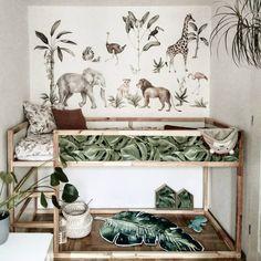 "... su Instagram: ""Pokój zwierzoluba 🤣 . . . . #ikeakura #ikeabedroom #ikeabed #kidsroom #kidsdesign #kidsroom #pokojdziecka #pokojchlopca #scandinaviandesign…"" Ikea Hacks, Entryway Bench, Kids, Furniture, Instagram, Home Decor, Entry Bench, Young Children, Hall Bench"