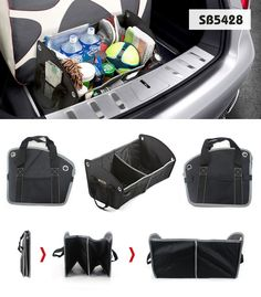 Convenient Portable Folding Car Trunk Storage Organizer Cas| Buyerparty Inc.