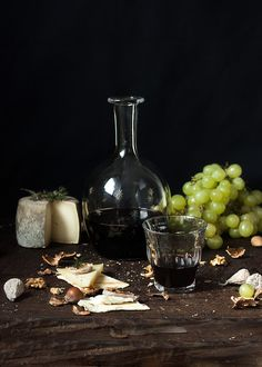 Uvas y Queso....saben a beso..   Flickr: Intercambio de fotos