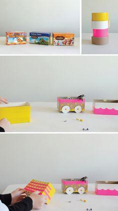 Tea Box Circus Train DIY   Mer Mag