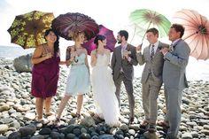 ♥ Indian ♥ fusion ♥ wedding ♥ outdoor ♥ photo props <3 parasols <3 beach <3 umbrellas <3