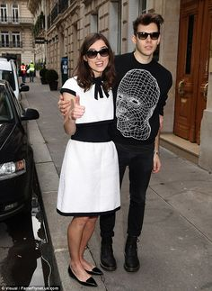 Keira Knightley and James Righton (March 2014)