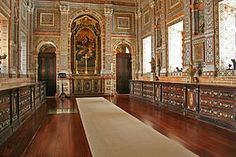 Monastery of São Vicente de Fora - The sacristy, famous for its different types of marble.
