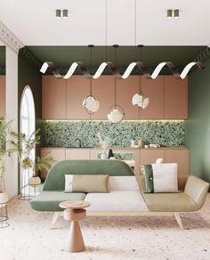 Interior Flat, Home Interior, Interior Architecture, Interior And Exterior, Interior Decorating, Apartments Decorating, Decorating Bedrooms, Kitchen Interior, Decorating Ideas