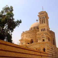 The Synagogue in Coptic Cairo via @locdadventures