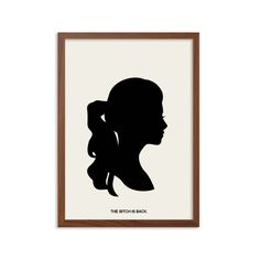 GOSSIP GIRL   The Bitch Is Back affiche : Georgina Sparks Illustration moderne série télé rétro Art Wall Decor