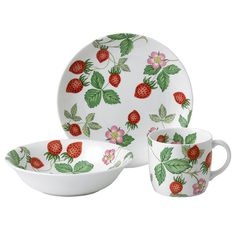 Wild Strawberry Childrens Gifts by Wedgwood available at Silver Superstore.