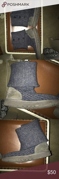 Uggs Size 7 uggs, lightly worn great shape!! Willing to negotiate! UGG Shoes Ankle Boots & Booties