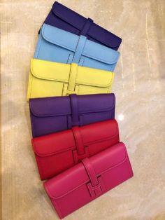 Hermès Jige Clutch rainbow. Clothing, Shoes & Jewelry : Women : Handbags & Wallets : Women's Handbags & Wallets http://amzn.to/2kkfnGv